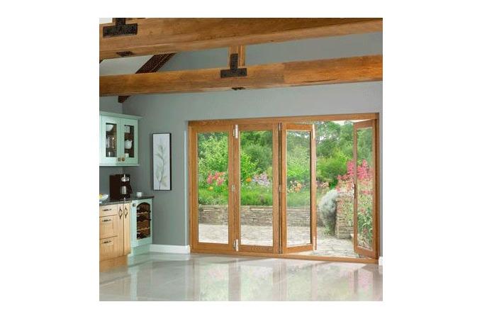 Oak Doors Oak Bi Fold Doors External