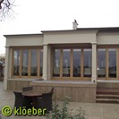 Oak folding sliding doors
