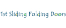 Logo of 1st Sliding Folding Doors