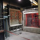 Fire testing blast doors