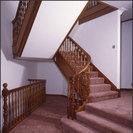Brazilian mahogany staircase
