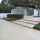 Buff Green Sandstone Paving