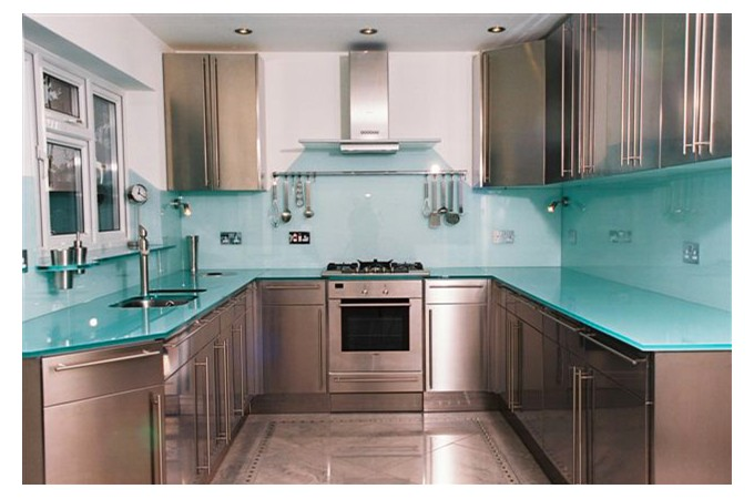 cameo glass kitchen worktops mirrors and shelves. Black Bedroom Furniture Sets. Home Design Ideas