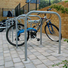 College Galvanised Steel Cycle Stands