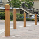 Epping Timber Bollards