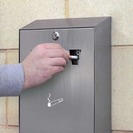Cigarette Disposal Bins