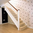 Chamfered Staircase Primed