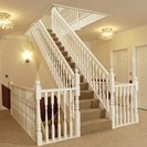Colonial Staircase Primed