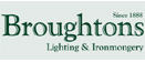 Logo of Broughtons of Leicester
