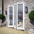 Softwood Folding Doors