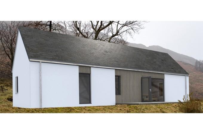 Hebridean contemporary homes ltd self build kit homes for Contemporary self build homes