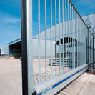 Delta cantilever sliding gate