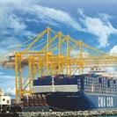 Ship-to-shore container cranes