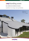 2013 VMZINC standing seam specification guide